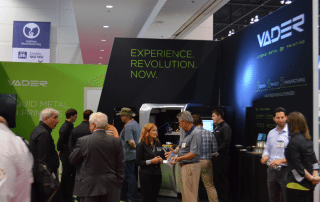Vader Systems Booth at IMTS