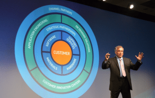 VJ says the customer is at the center of strategy (photo by Michael Petch)