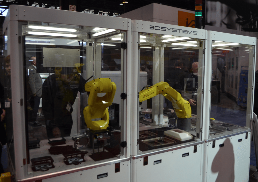 3D Systems Figure 4 Modular System at Methods Machine Tools booth. Photo by Michael Petch.
