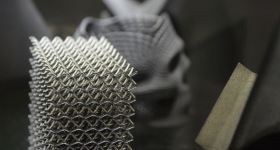 Renishaw metal 3D printed parts. Photo by Michael Petch for 3D Printing Industry