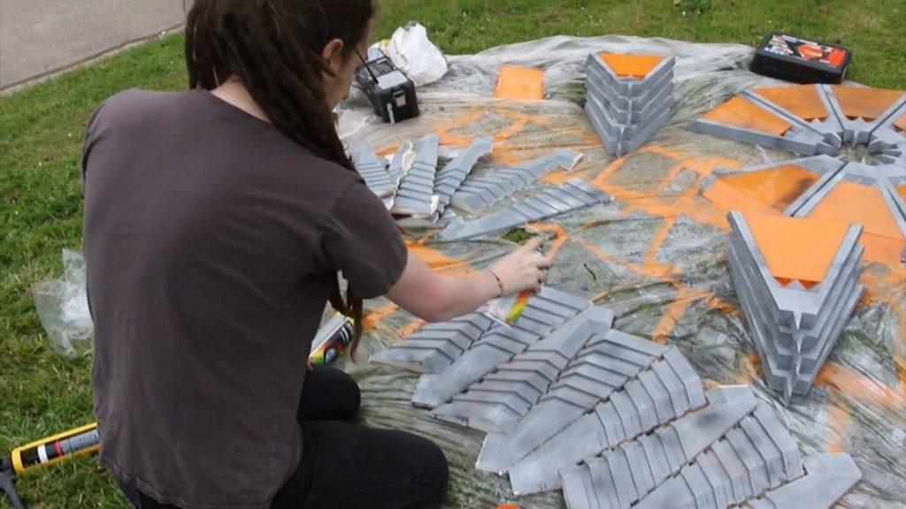 Working on the Stargate. Image: Vigo Universal