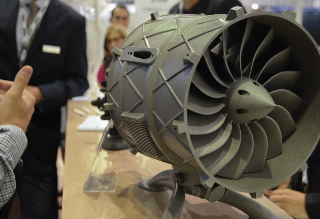 EOS 3D Printing Metal for Aerospace demo