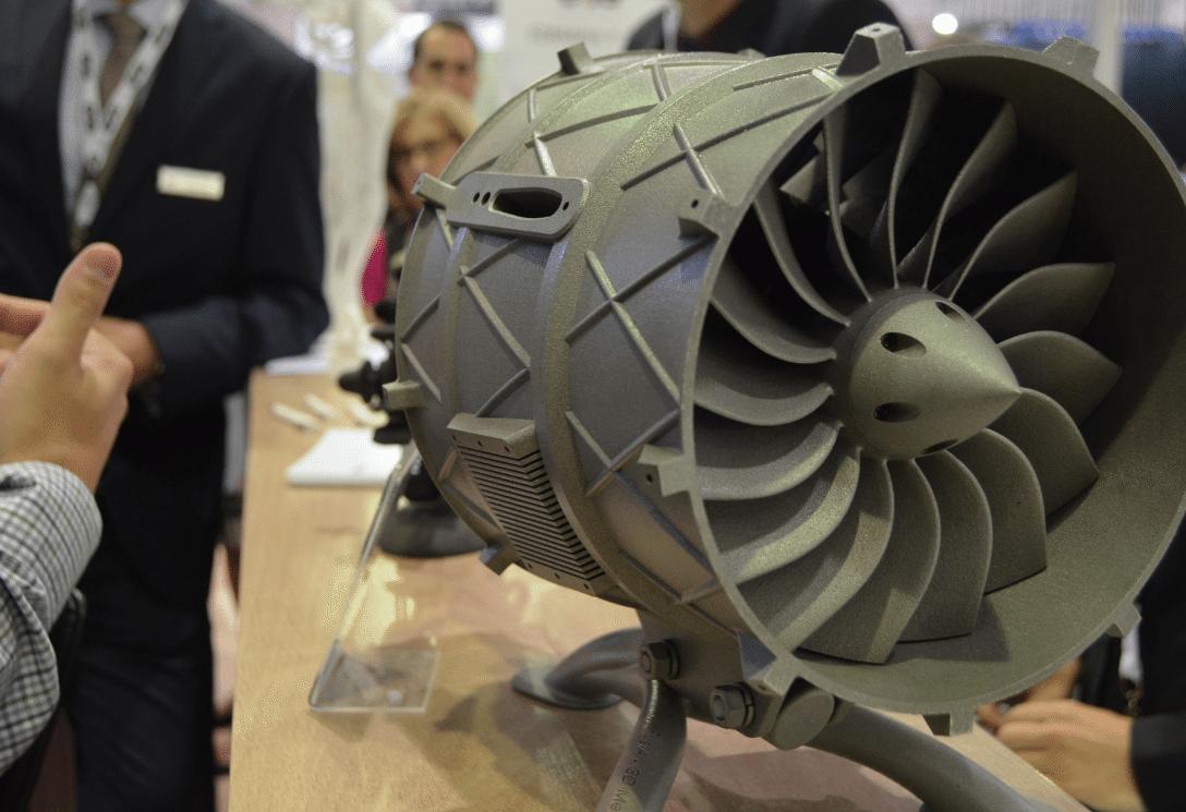 EOS 3D Printing Metal for Aerospace demo