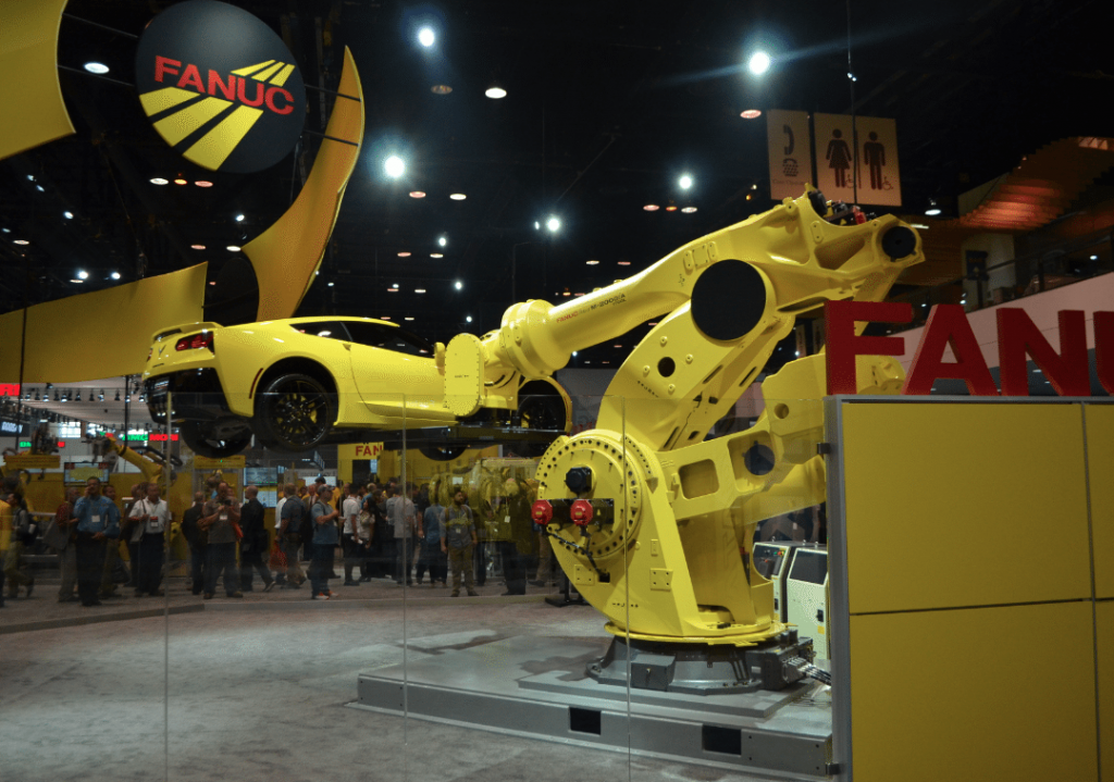 """The Caddy! Where's the Caddy?"" FANUC at IMTS"
