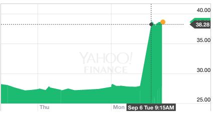 Google Chrome - finance.yahoo.com - AM3D.F 3885 1077 3837- . SLM SOLUT GR - Yahoo Finance - Screen Shot 6 sept. 2016 12.42.20