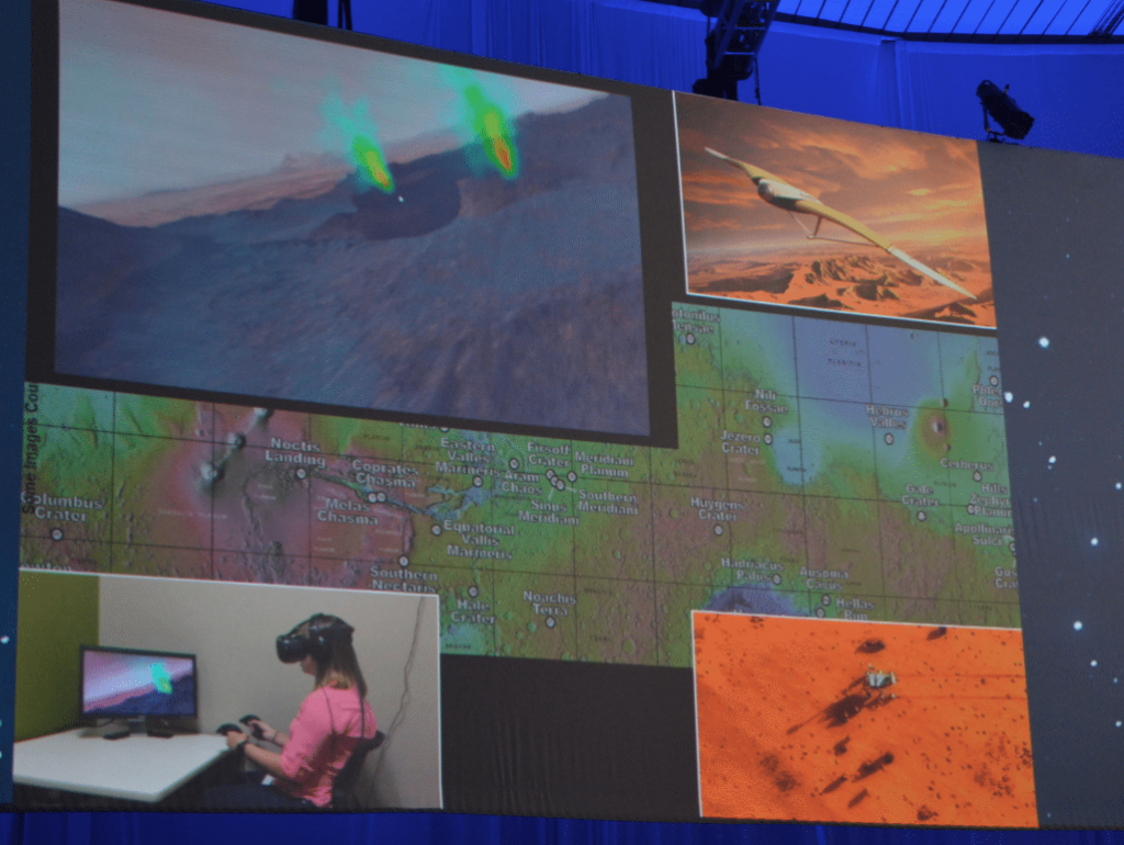 Virtual Reality Mars UAV Training
