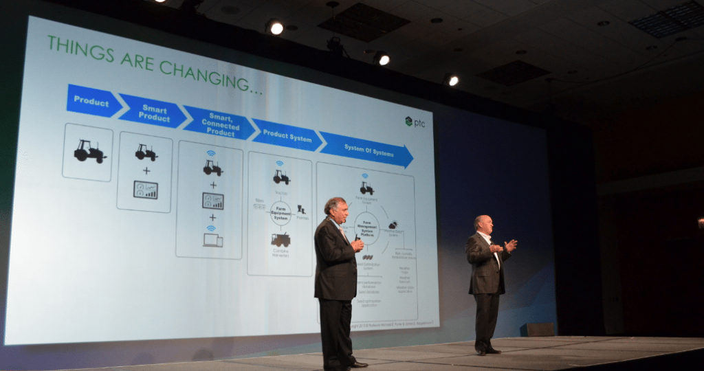 PTC CEO Jim Hepplemann on Stage during 3D Systems IMTS Event