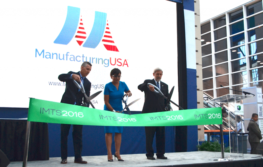 U.S. Secretary of Commerce Opens IMTS 2016