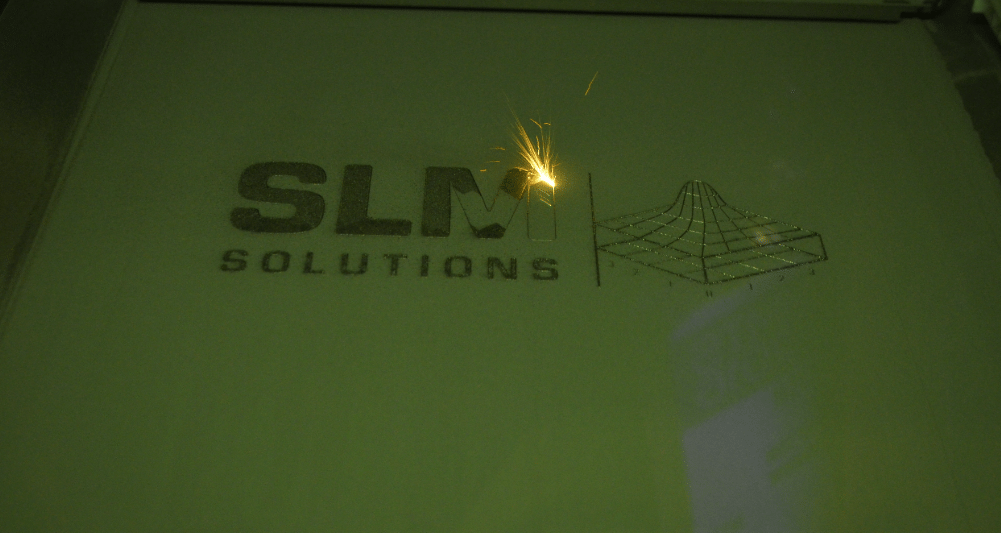 """The (laser) light was yellow sir"" SLM Solutions at IMTS 2016"
