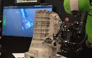 Creaform Robot 3D Scanning Technology at IMTS 2016
