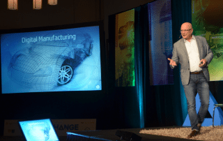 Shane Wall describes Digital Manufacturing driving the next Industrial Revolution. Photo by Michael Petch.