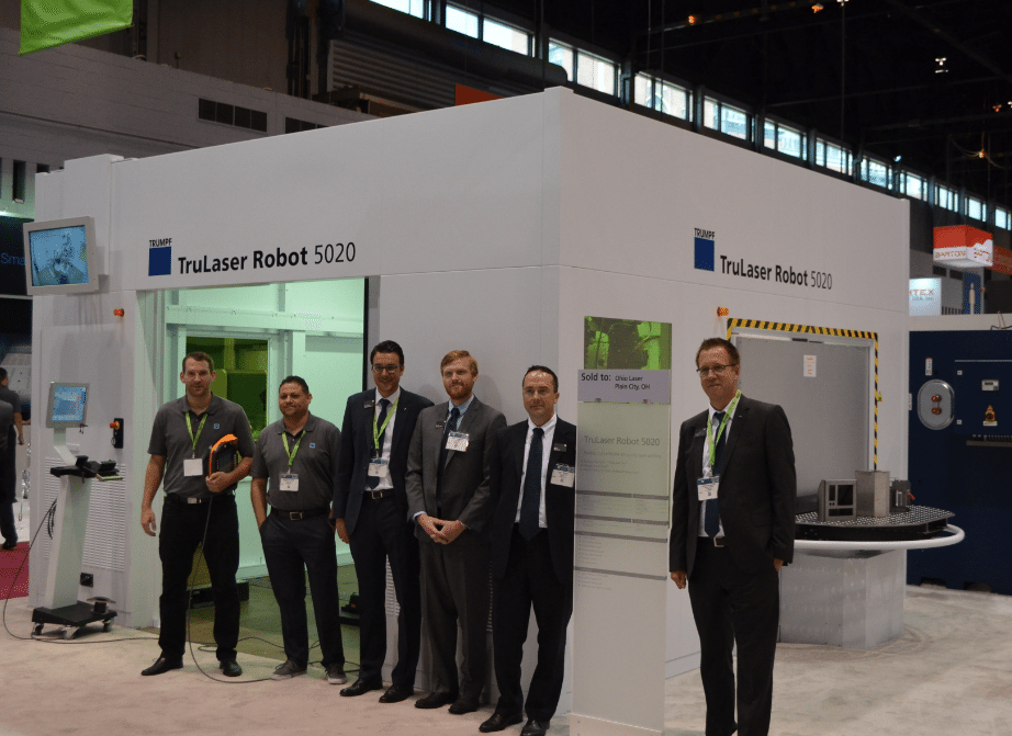 Team Trumpf at IMTS 2016