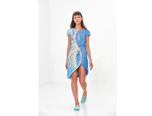 3D printed dress debuts at New York Fashion Week