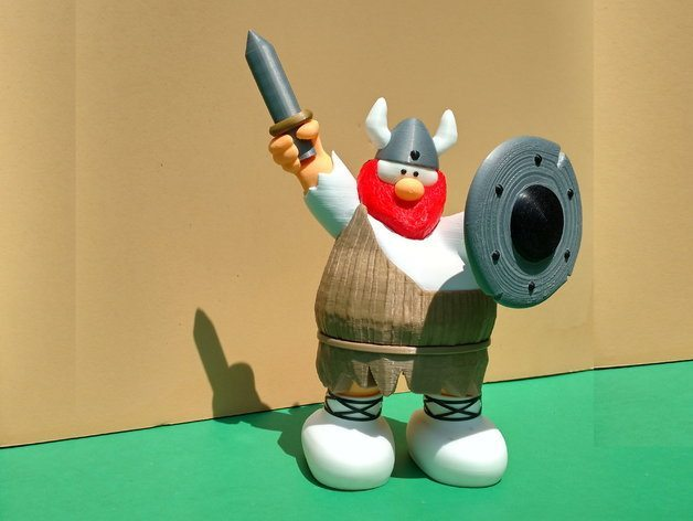 Hagar the Horrible by Steve Solomon. Image: MyMiniFactory