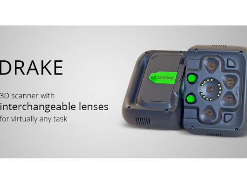 Drake: the newest hand-held scanner from Thor3D