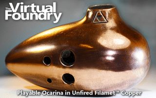 Filamet Ocarina. Image: The Virtual Foundry