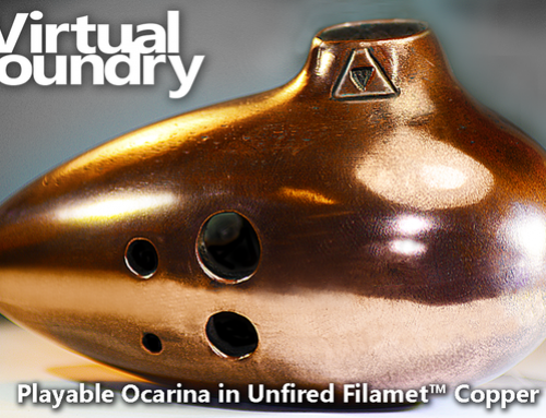 The Virtual Foundry's Filamet: one of a kind filament