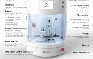 rokit invivo bio 3d printer