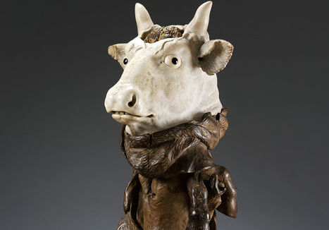 Victoria and Albert Museum, Head of an Ox, artist unknown
