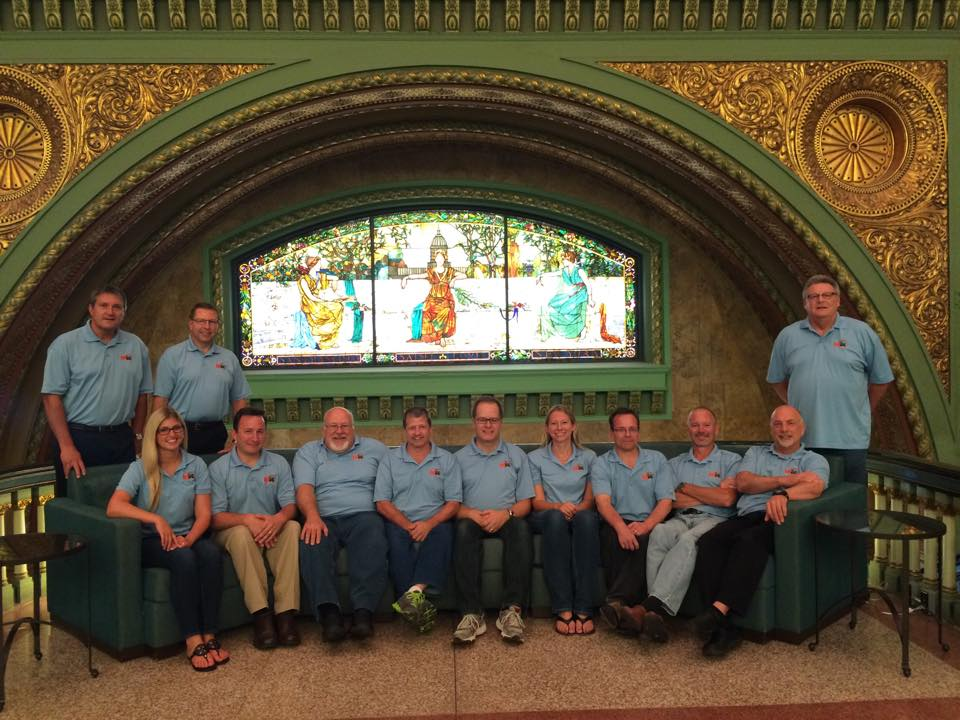 The AMUG team at-St Louis Union Station-Hotel April 3-7 2016