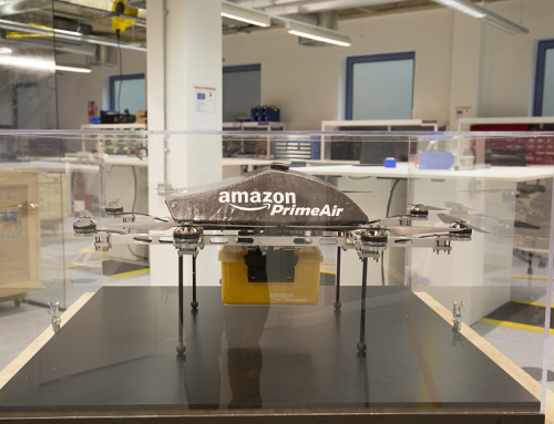 Amazon reveals top secret 3D printed drone lab in Cambridge UK