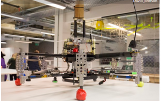 Amazon prototype drone. Image via Cambridge News