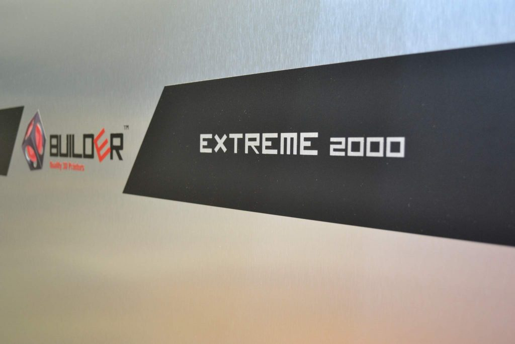 Builder 3D Printers Builder Extreme 2000 Photo via: