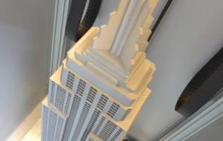 Builder 3D Extreme 2000 3D printer Empire State Building