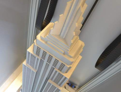 Towering builds by Builder Extreme printers
