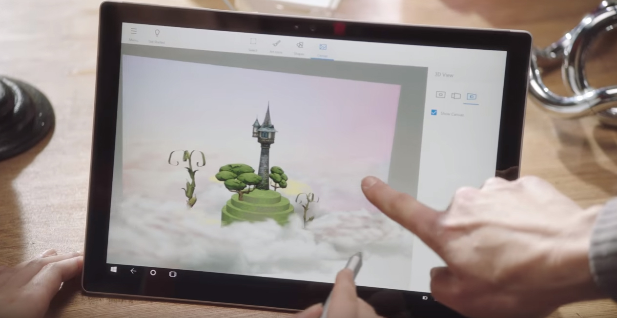 microsoft paint 3d available for preview 3d printing