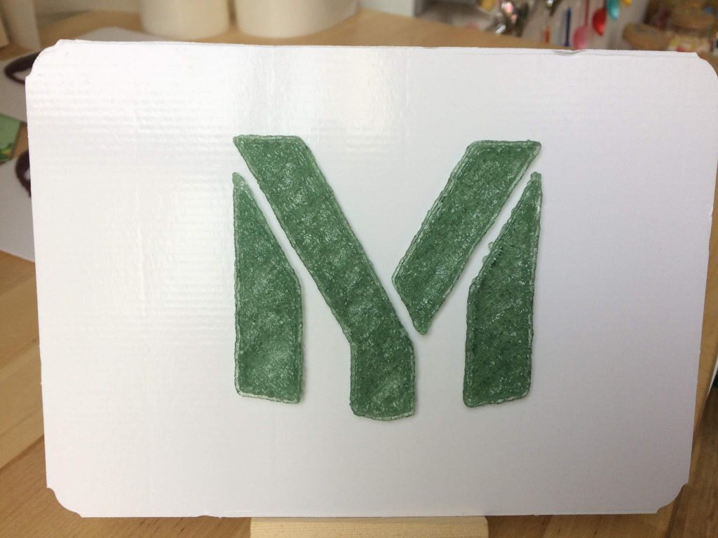 My Mini Factory logo printed by Magic Candy Factory