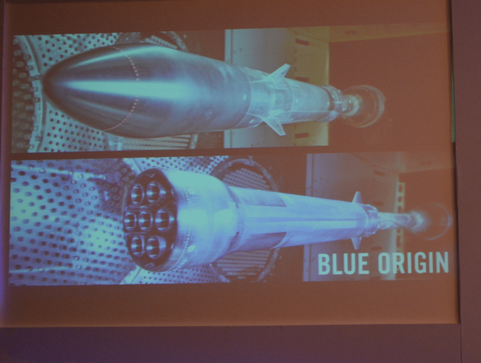 Wind testing of Blue Origin's New Glenn