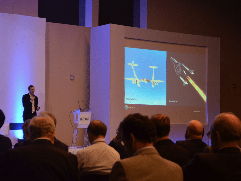 Virgin Galactic CEO presents update at the 67th IAC