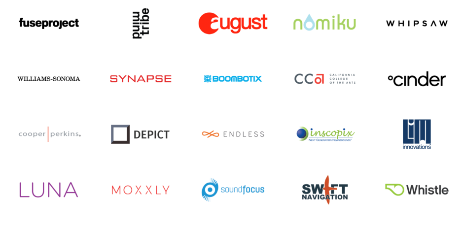 Fictiv Clients (image courtesy Fictiv)