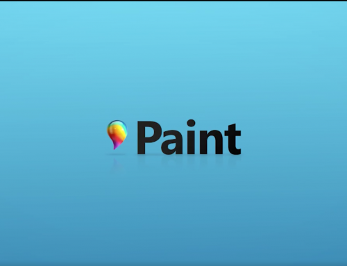 Microsoft Paint gets the 3D touch