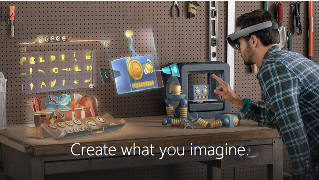 Image result for microsoft hololens paint