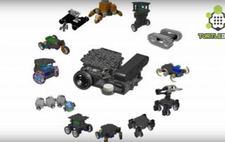 TurtleBot 3 configurations ROBOTISCHANNEL Youtube