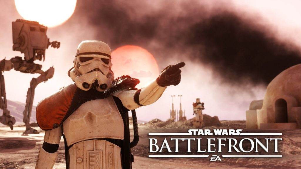 """""""Look at that texture"""" Star Wars: Battlefront. Image via EA DICE"""