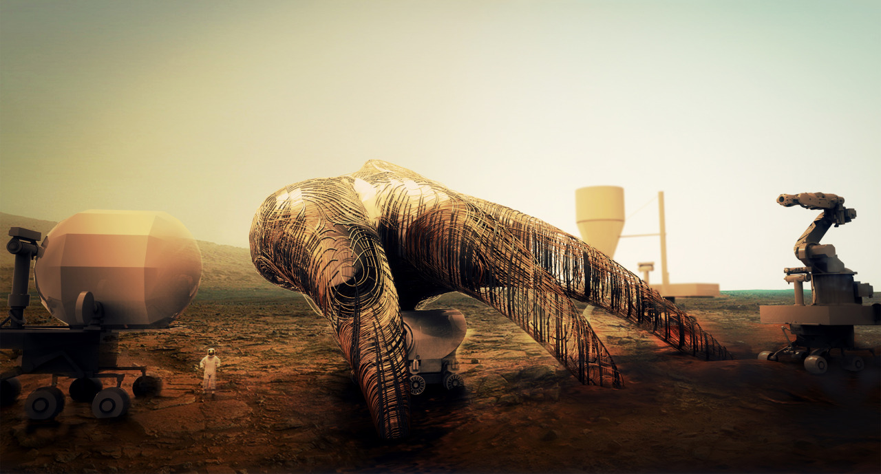 Life on Mars part 2, 3D printing future habitats - 3D ...