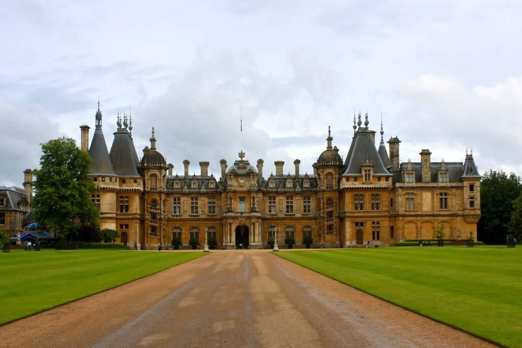 Waddesdon Manor Photo via: STACALEIGH, Dessert Adventures on WordPress