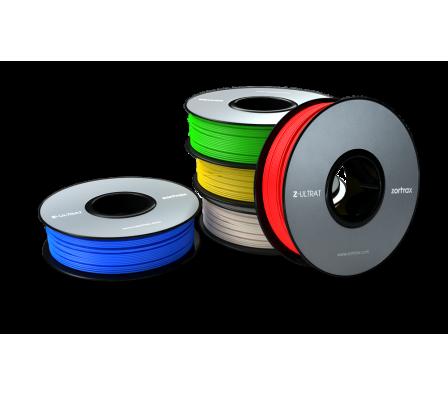 It's raining filament. The Z-ULTRAT 9 color filament. Photo via: Zortrax