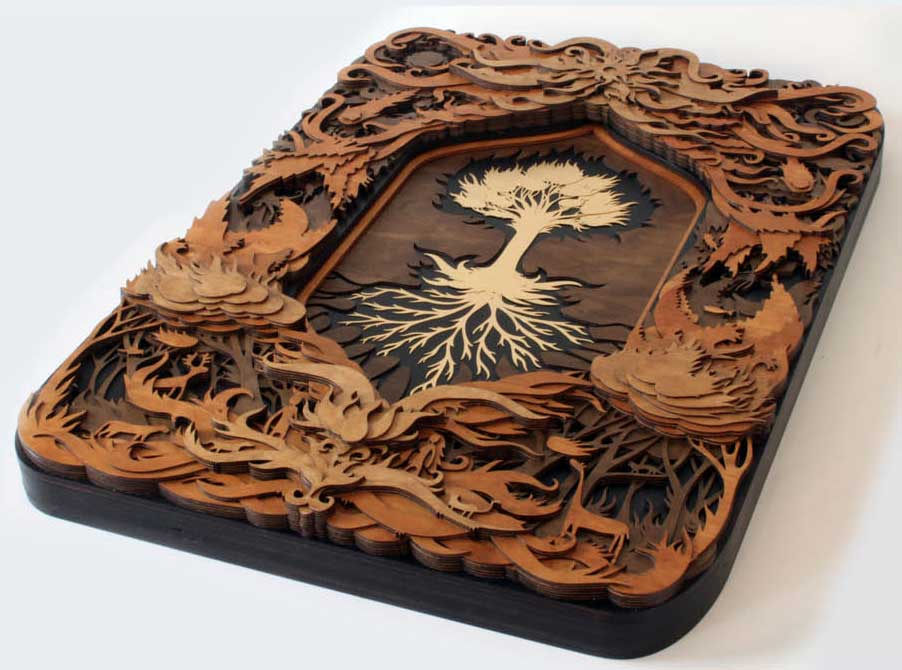 laser-engraved-layered-wood-art-project