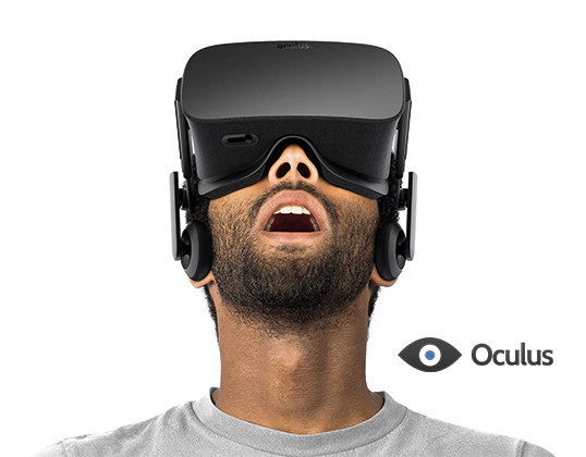 The Oculus Rift VR, Design by Capture prize stage 1. Image via: Oculus