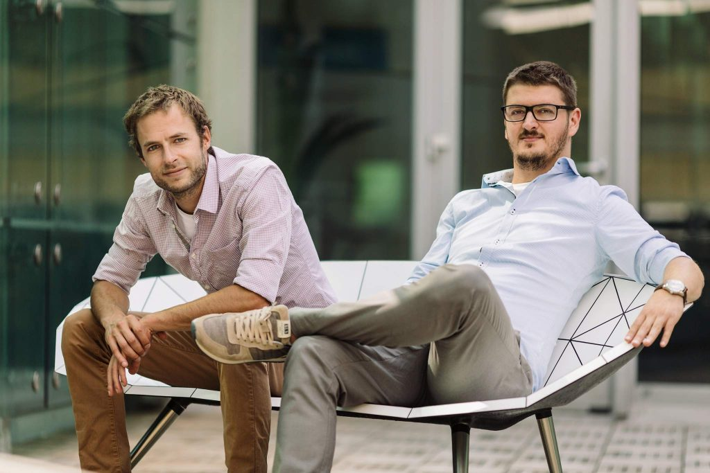 Vectary founders Michal Koor and Pavol Sovis. Image: Vectary