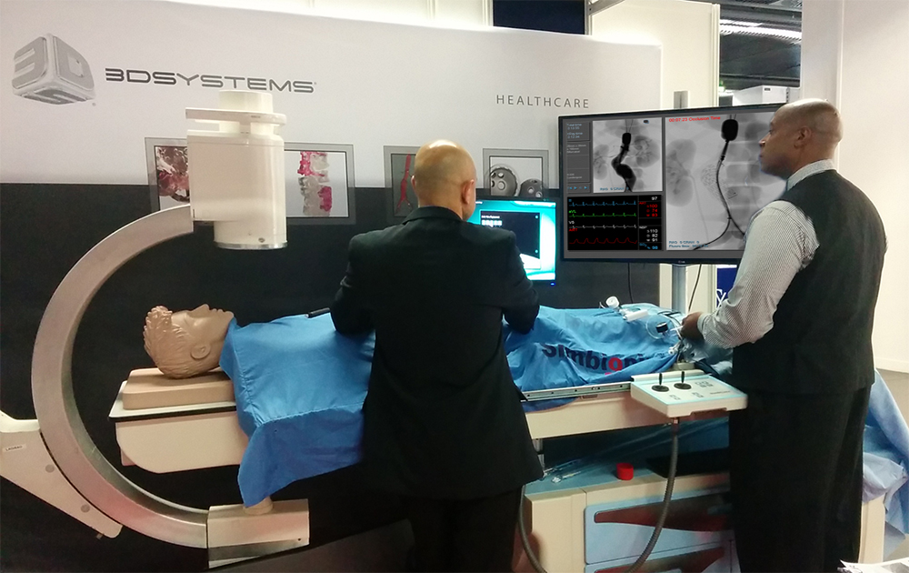 3D systems healthcare training system. Image via 3D systems.