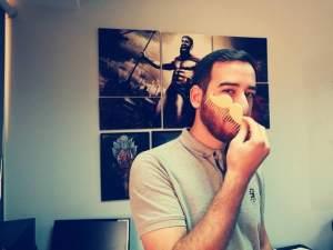Movember Mustache Comb