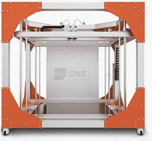 The BigRep One large-scale 3D-printed Image via: BIgRep