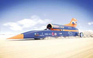 The Bloodhound SSC. Image via Bloodhound.