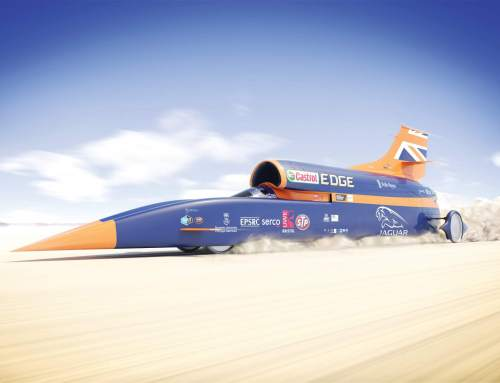 1000mph Bloodhound SSC all set to break record in 2017 with help from 3D printing