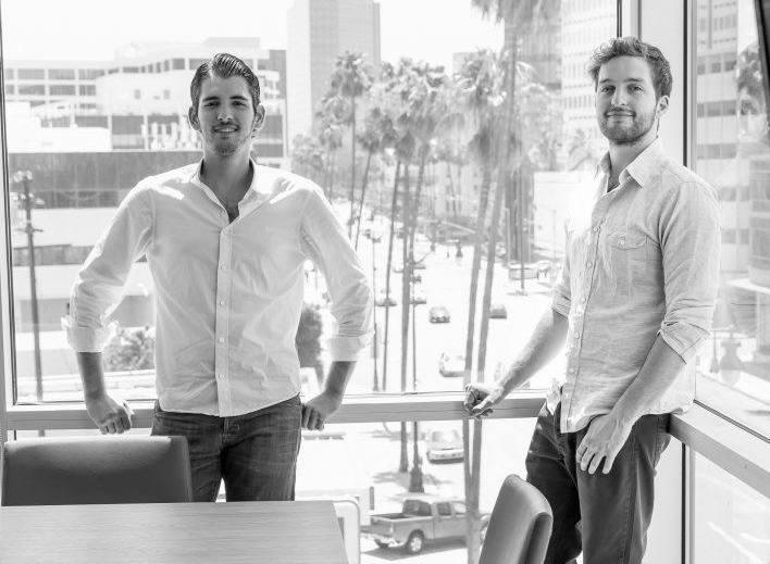 Chris Kelsey (left) and business partner Fernando De Los Rios. Photo via: Cazza.